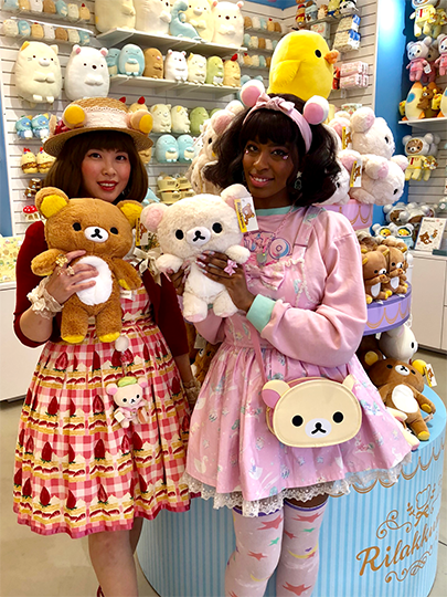 Rilakkuma and 2 shots